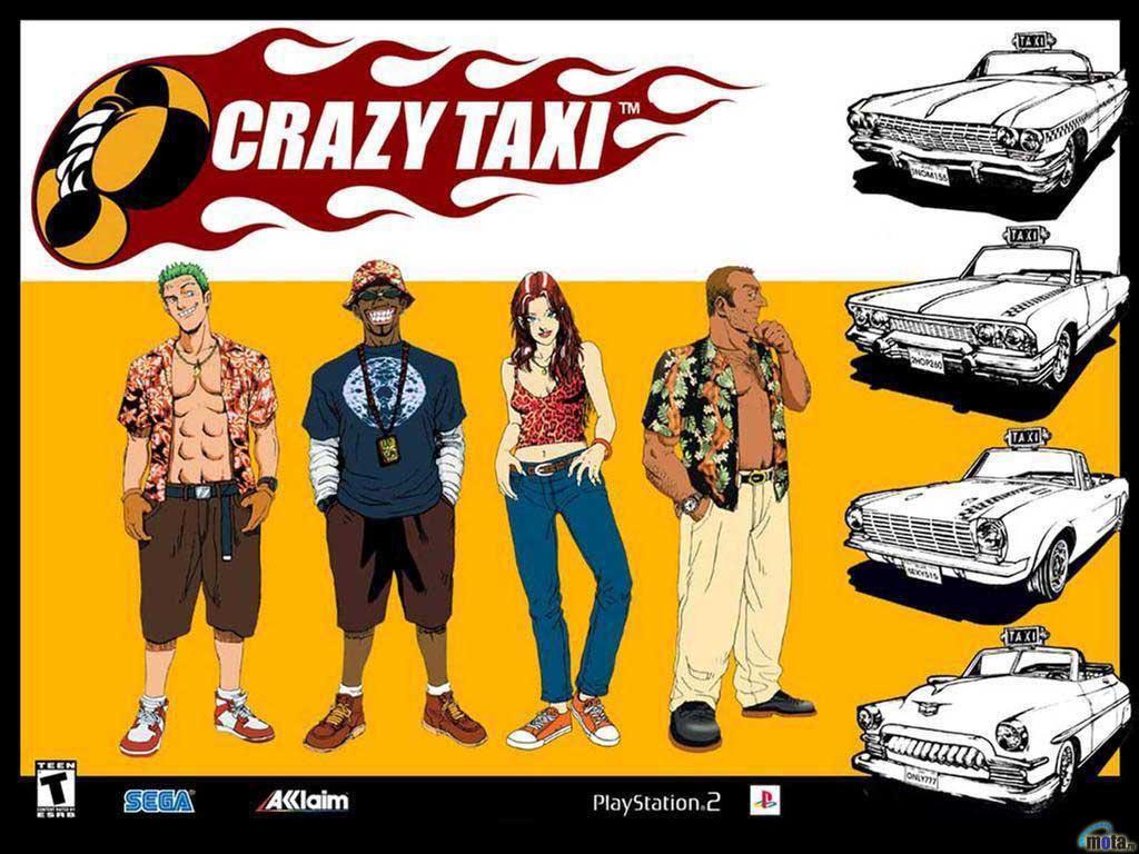 Crazy Taxi (Historia) (Parte I)
