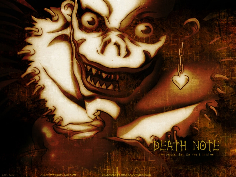 deathnote wallpapers. Ryuk Death Note Wallpaper
