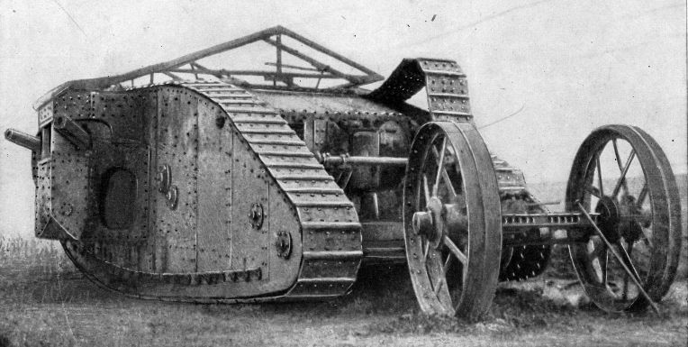 British tanks of world war one