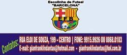 "Escolinha de Futsal ""BARCELONA"""