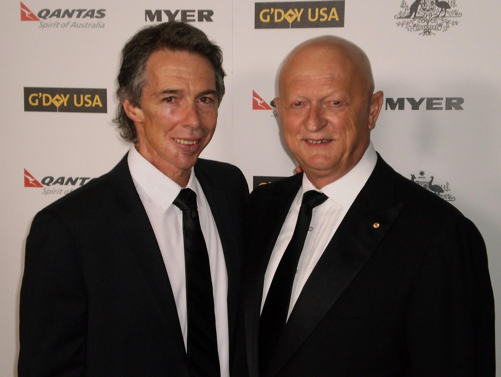 Simon Baker Scar Wally mariani, with actor