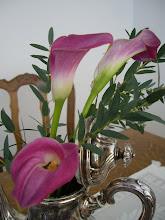 Härliga rosa liljor