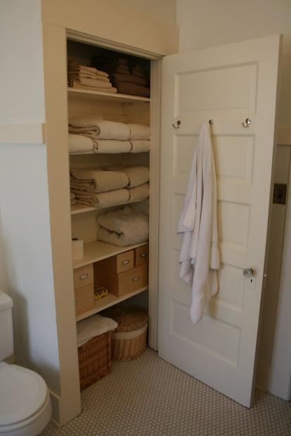 Small Bathroom Linen Closet