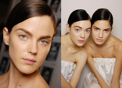 Balenciaga Beauty Looks Spring 2008