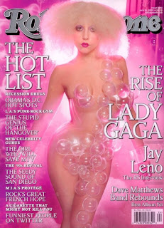 Lady Gaga on the cover of Rolling Stone Magazine June 2009
