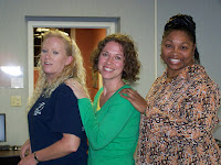 Photo of Karen Schotta, Joyce Fisk, and Kimberna Griggs