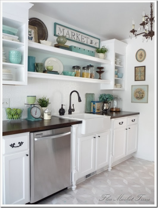 SNS #73 brings you ~ kitchen cabinet ideas  Funky Junk InteriorsFunky