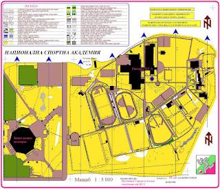 Картата около НСА