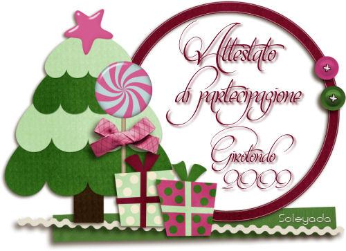 Attestato 2009