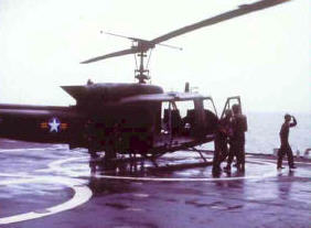 The Empty UH1B