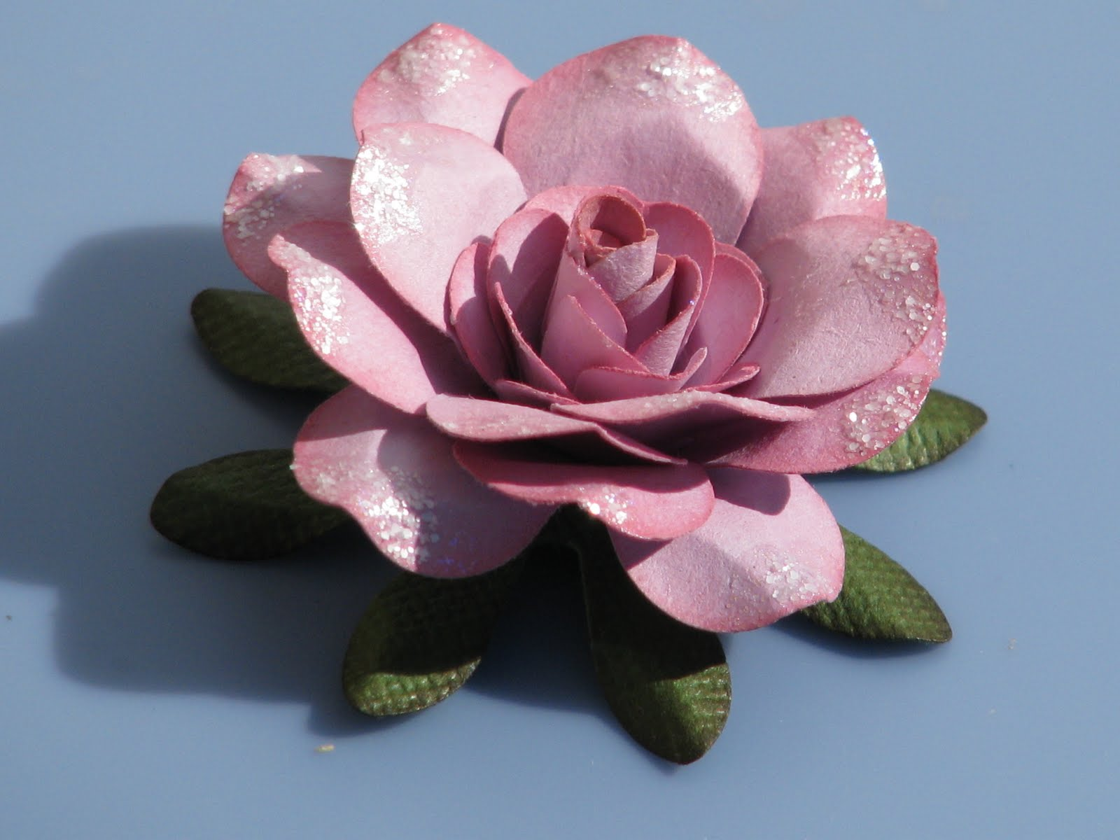 Simply paper sweet rose tutorial for Handmade paper flowers tutorial