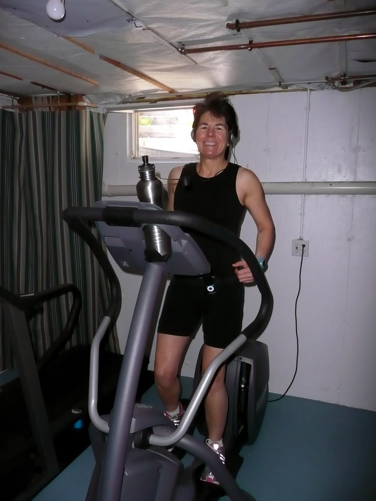 Cranky fitness happiness is a home gym