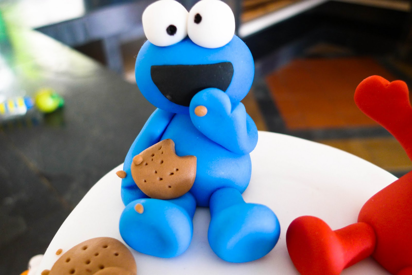 Image Result For Elmo And Cookie Monster Cake
