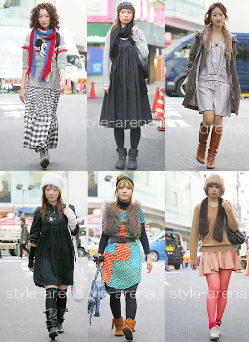 Dinniey Blogger Harajuku Style Fashion Anak Muda Jepang Download Foto Gambar Wallpaper