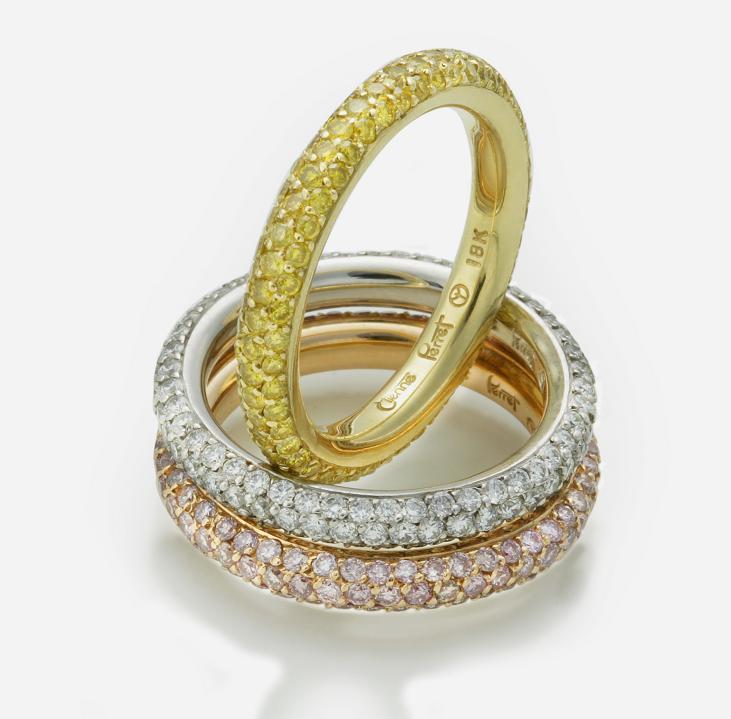 Colored Diamonds Etiennes Natural Color Diamond Wedding