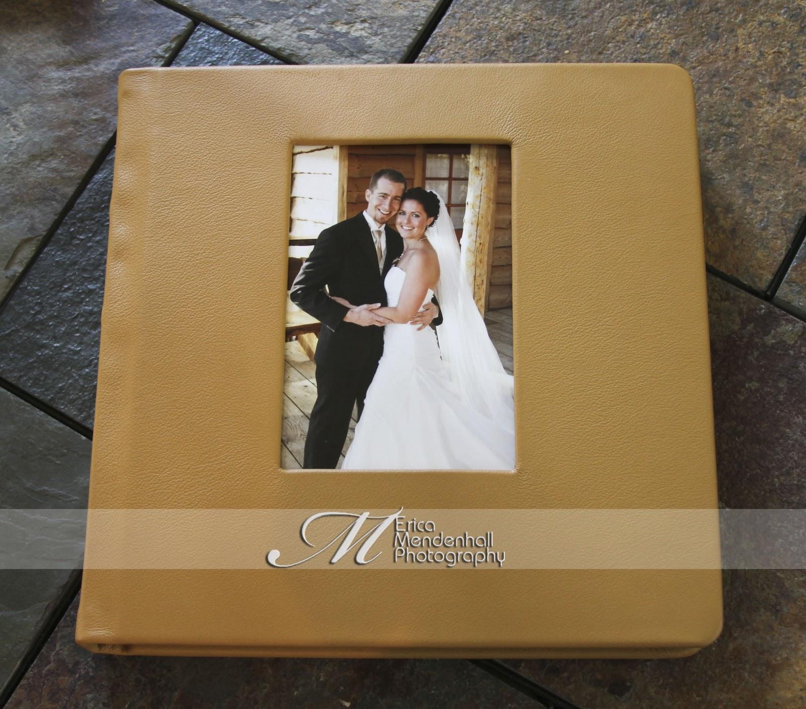 Leather Wedding Album