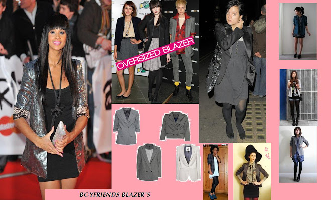 The Boyfriend Blazer: HOT THIS SPRING SUMMER PUT AWAY THE LEATHER JACKETS