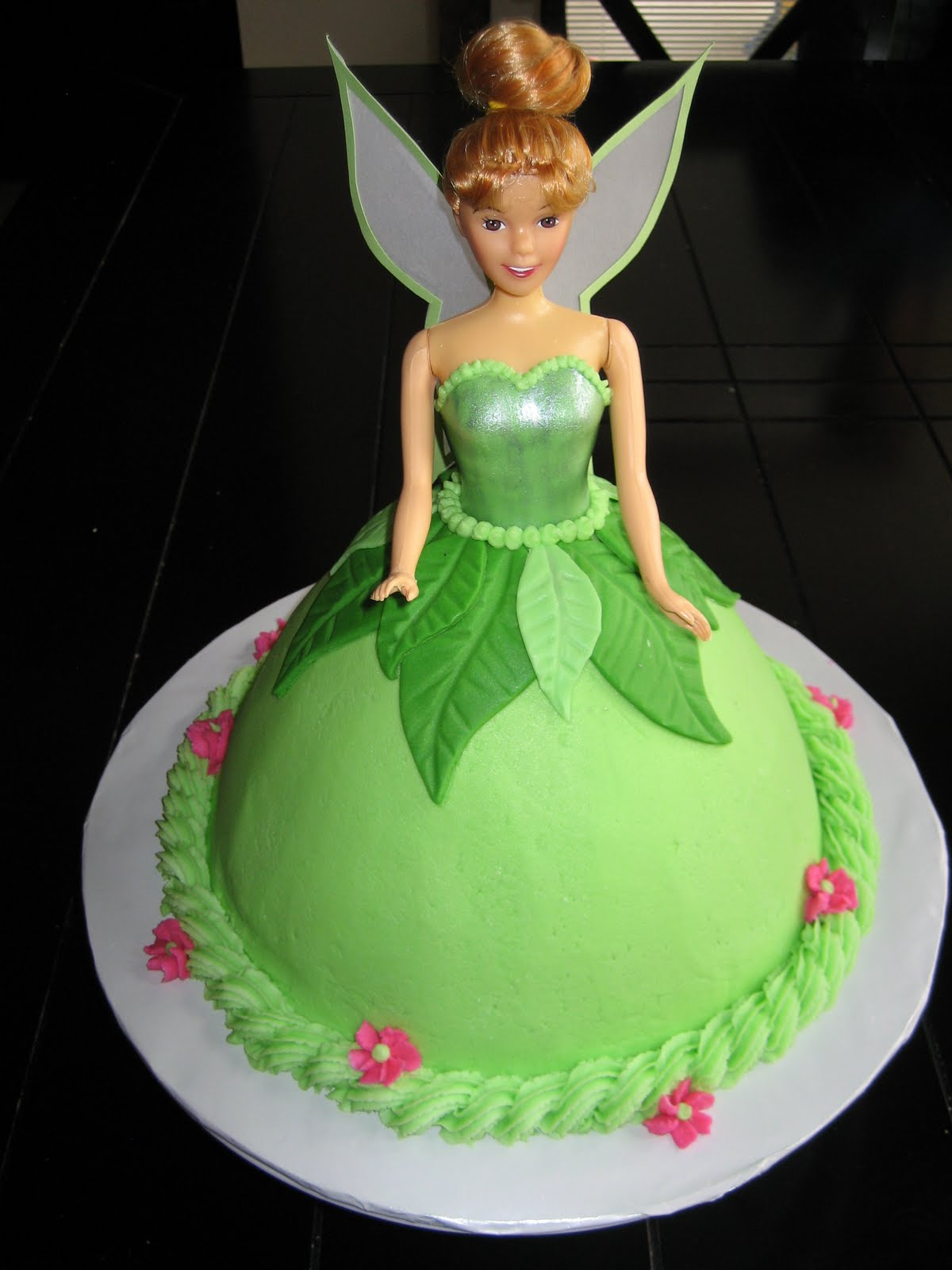 Tinkerbell Doll Cake Design : Tinkerbell Doll Cake Car Interior Design