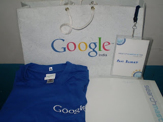 Google SearchMasters 09 Memorablia