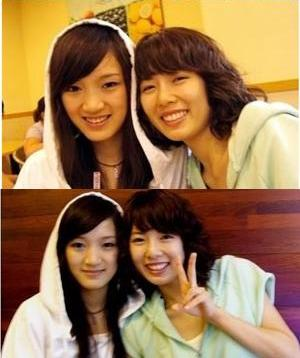 Hyuna Pre Debut Jia with Hyuna  4Minute