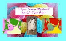 SUGAR'S SWEETEST BLOG AWARD