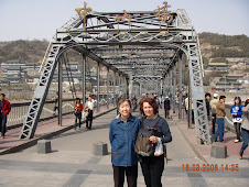 The first ever bridge ever built on the yellow river in Lanzhou