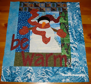 Zlaty Sews Charity Quilt Finish And Update