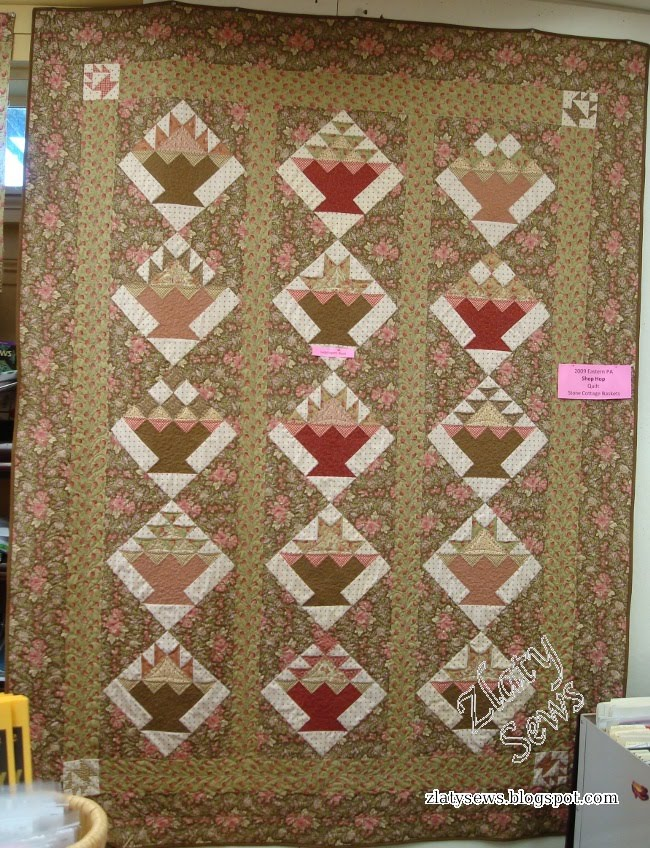 Zlaty Sews Quilt Shops Hopping And Quilting