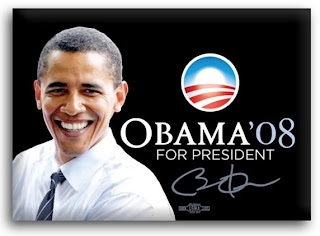 Controcorrente alternata saluta felice Barack Obama nuovo presidente degli Stati Uniti d'America