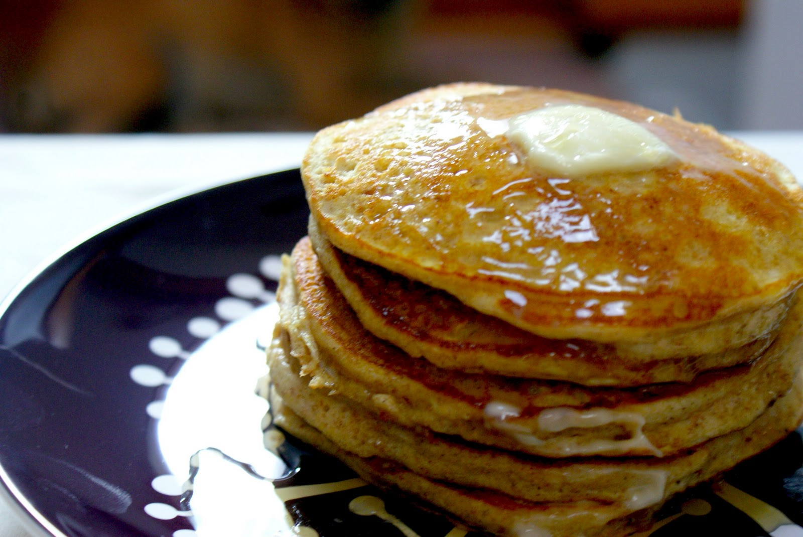 Piccante Dolce: Meatless Monday: Whole Wheat Winter Squash Pancakes