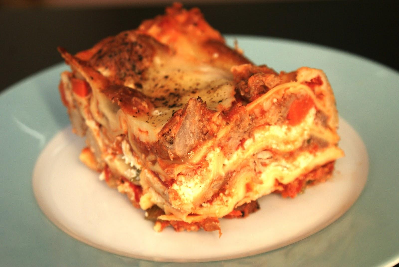 Piccante Dolce: Love 4 Lasagna: Pork & Fennel Lasagna