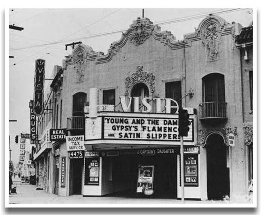 0791-006 historic Los Angeles Hollywood Walt Disney Studios at Sunset /& Hyperion