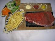 BIFE NA PEDRA (Restaurante Taverna)