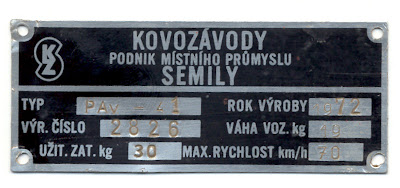 PAV 41 trailer specifications.