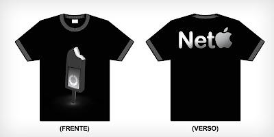 Camiseta     Modelo Neto Basic  Frente E Verso  100% Algod  O