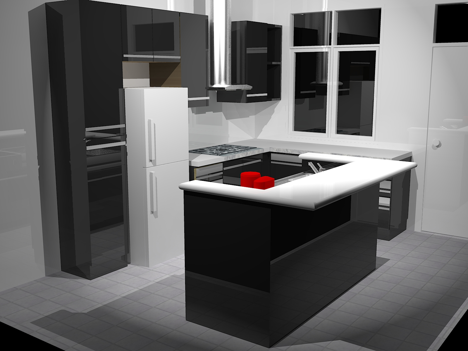 Custom kitchen craze for Kitchen design 7 x 7