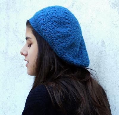 Boina Hecha En Crochet Con Cashmilon Finito  Marca      Color