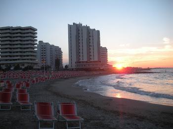 Tramonto e mare di Misano Adriatico