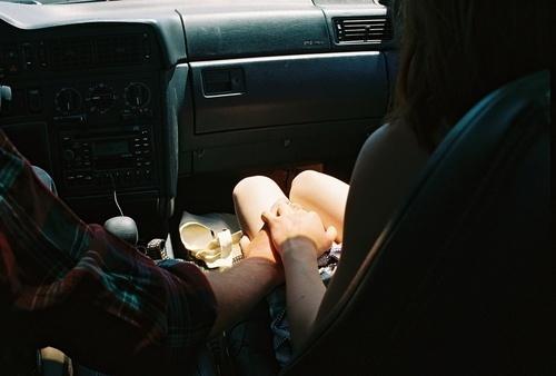 дала в машине фото