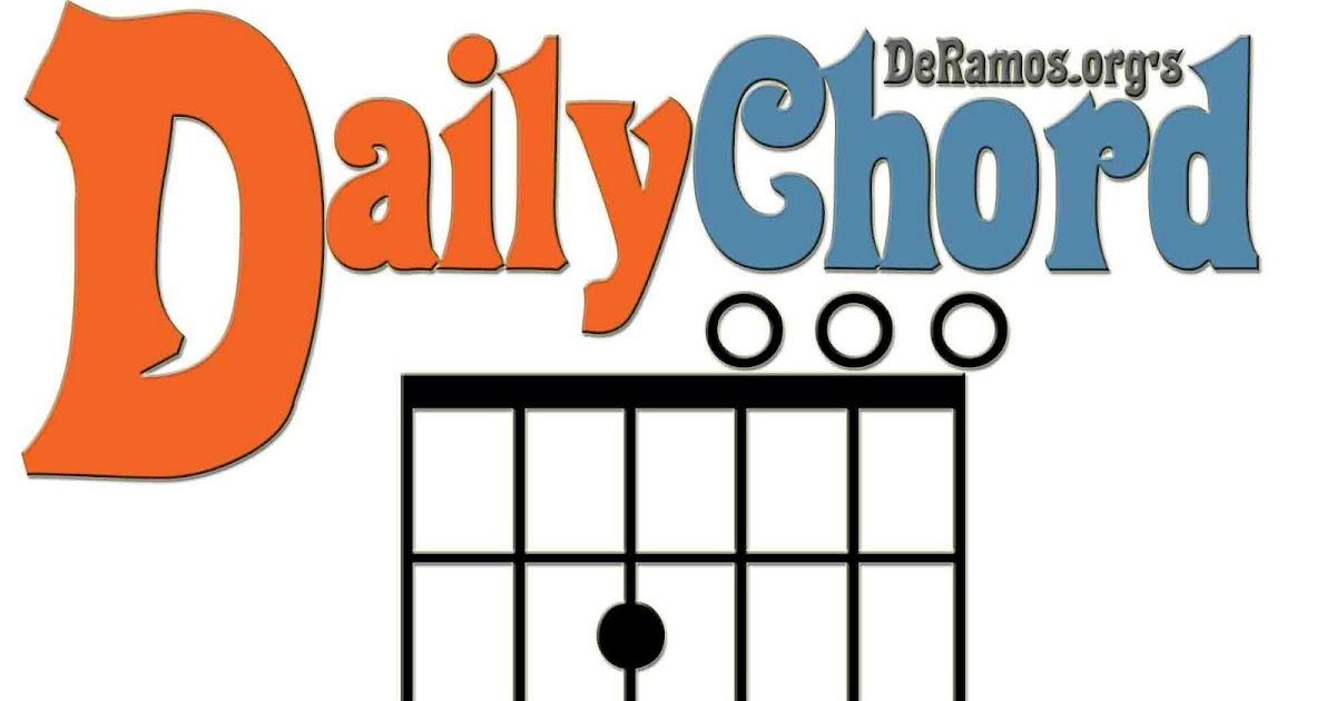 Chord Du Jour Cmaj7 Guitar Beginner