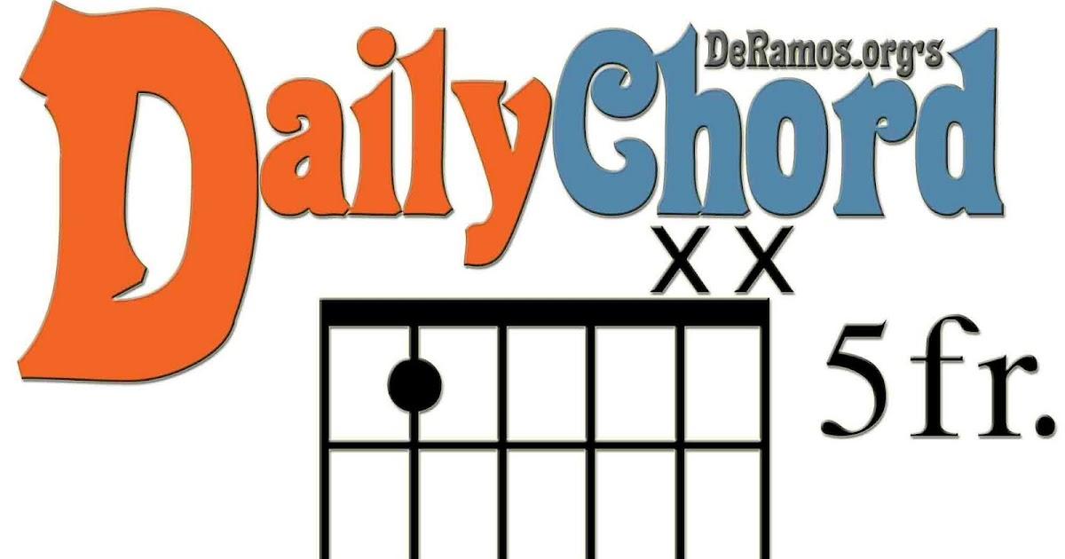 Chord Du Jour D5 Power Chord Guitar Beginner
