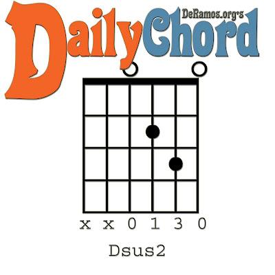 Chord Du Jour Dsus2 Guitar Beginner
