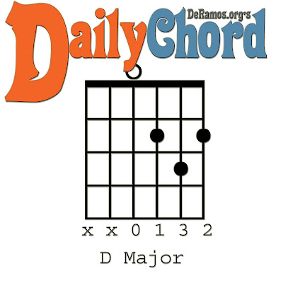 Chord du Jour: The Open D Major Chord and Chord Diversity