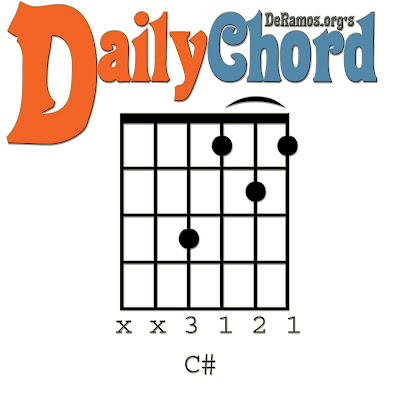 Chord du Jour: Lesson #43: C# and the Capo / Barre (Guitar, Beginner ...