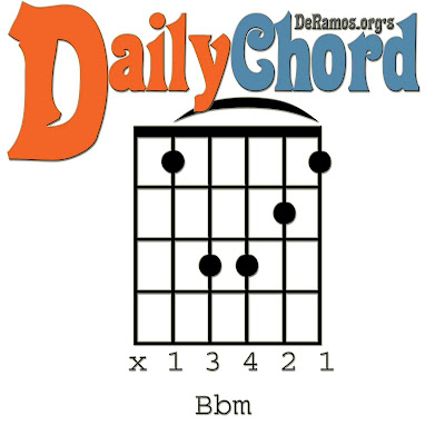 Chord Du Jour Lesson 65 Bb Minor And The Capo Barre Guitar