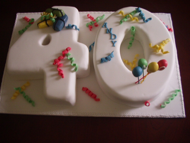 Images Birthday Cakes For Men Turning 40
