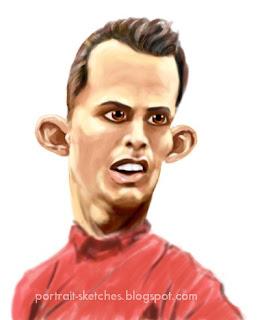christiano ronaldo caricature