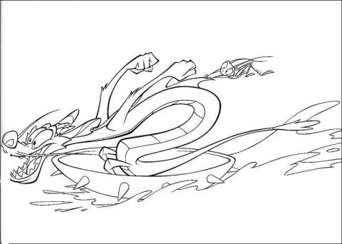 Disney Soul Dibujos para colorear de Muln