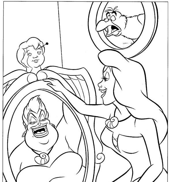 Excelente Ursula Para Colorear Galería - Ideas Para Colorear ...
