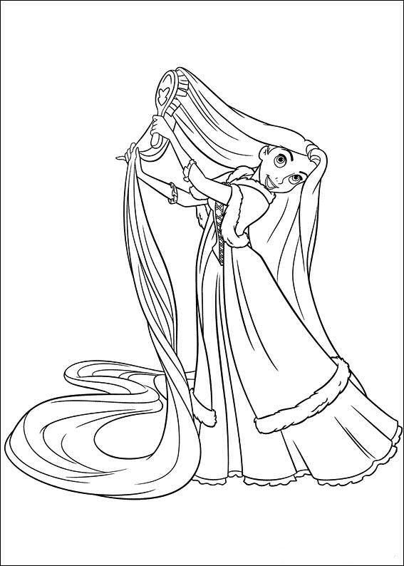 Disney Soul Dibujos para colorear de Enredados